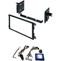 PAC RP5-GM11 GM LAN RADIO REPLACEMENT INTERFACE FOR SELECT GM VEHICLES With Car Radio Stereo CD Player Dash Install Mounting Trim Bezel Panel Kit Mount