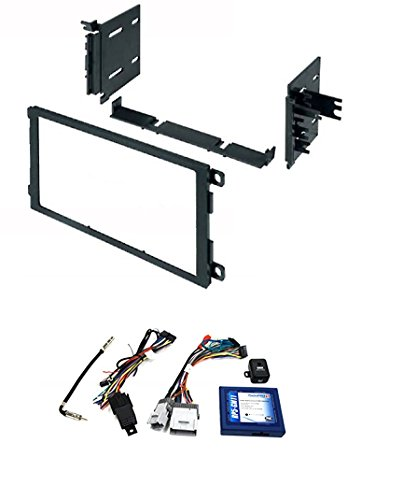 PAC RP5-GM11 GM LAN RADIO REPLACEMENT INTERFACE FOR SELECT GM VEHICLES With Car Radio Stereo CD Player Dash Install Mounting Trim Bezel Panel Kit ()