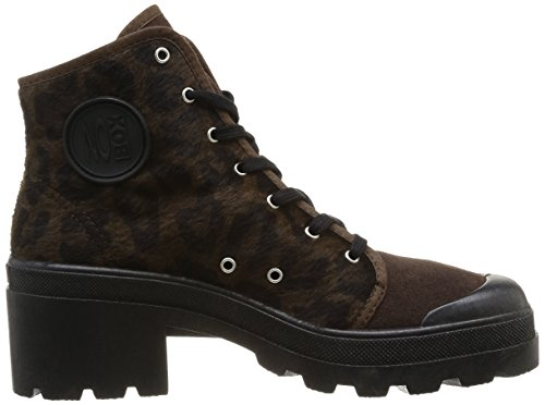 Marron leopard Da No Donna Galia Box braun Pantofole Marrone Brown 7q0PUA0f1