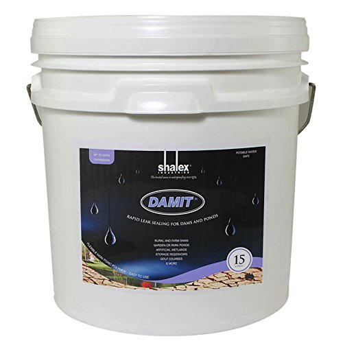 DamIt - Rapid Leak Sealer for Dams and Ponds 15L Continuous Pressure Seal Form