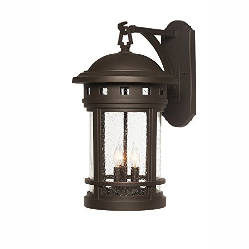 Designers Fountain 2391-ORB Sedona Wall Lanterns, Oil Rubbed Bronze by Designers Fountain