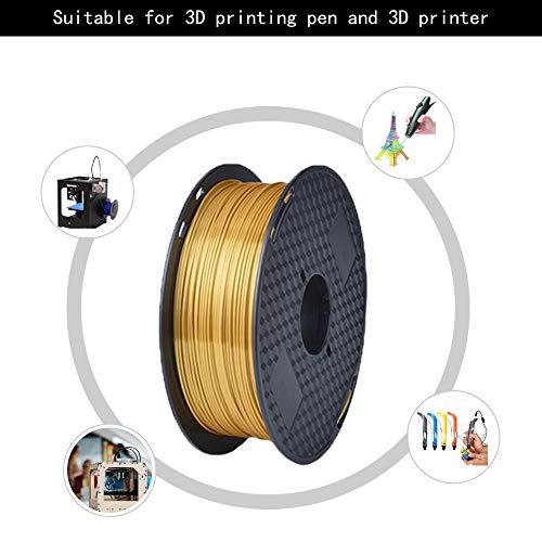 Silk Silver Pla 1.75mm 3d Printer Filament 1kg 2.2lbs Printing Materials Silky