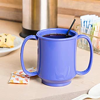 Two Handle Mug GET Tritan Enterprises SN-103-TY 8 oz Pack of 12 Tropical Yellow G.E.T