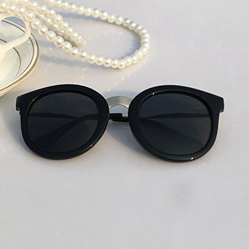 d572eaf75d2 Sunglasses female fashion fashion big frame sun glasses men s eye color anti  UV driver mirror