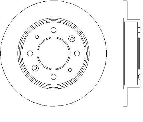 Nipparts Zubehörsatz für Bremsbeläge vorne für Hyundai Kia