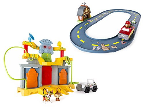 [Paw Patrol Light and Sound Monkey Temple Playset and Paw Patrol - Rocky's Barn Rescue Track Set] (Farmer Girl Costume Images)