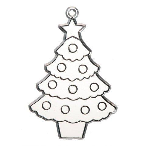 Bulk Buy: Darice Crafts for Kids Suncatcher Christmas Tre...