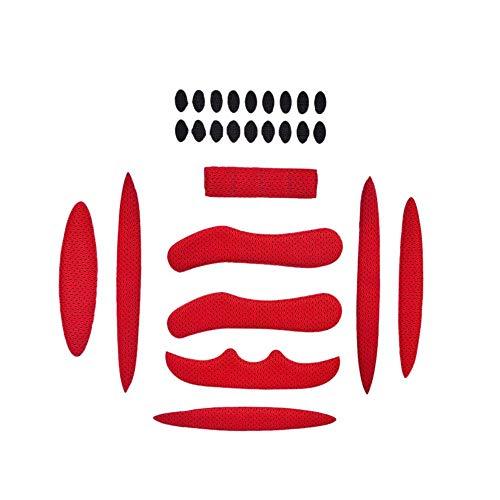 MMSSWaroom 27 Stks/set Helm Padding Kit Fiets Vervanging Universele Foam Pads Set Universele Airsoft Helm EVA Pads voor…