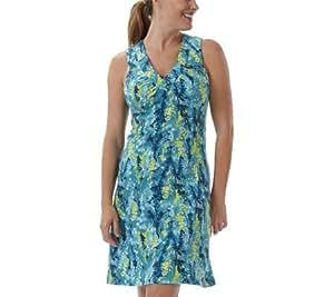 Royal Robbins Women's Fashion Essential Blossom Dress, Dark Aqua, XS