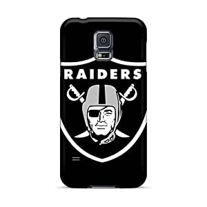 Excellent Cell-phone Hard Cover For Samsung Galaxy S5 With Provide Private Custom Nice Oakland Raiders Image