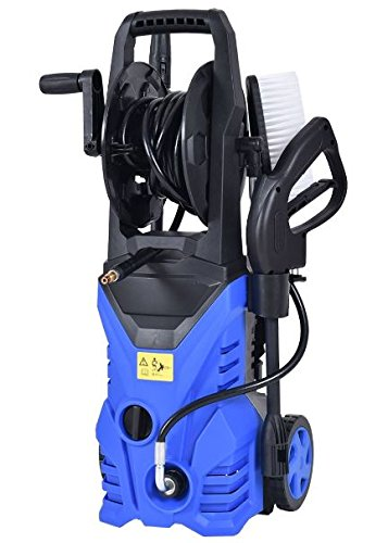 K&A Company Pressure Electric Cleaner Washer Psi Power Hose Outdoor Tool Water Car 1.7 GPM 1800 W 2030 Blue by K&A Company