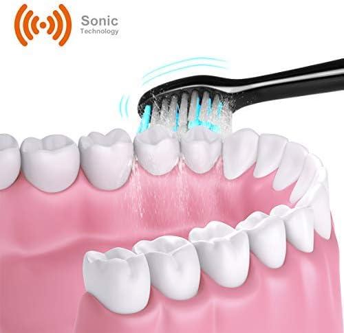 Testine di ricambio per spazzolino elettrico ELZO Sonicare, Clean, 3D White, Polish, Massage and Sensitive Clean, 4 pezzi