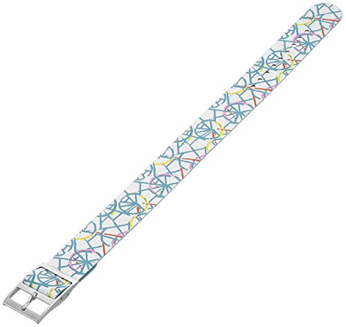 Fossil S181264 18mm Canvas Multi-Color Watch Strap (Fossil Band Replacement Leather)