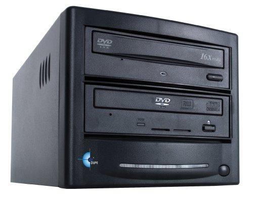 EZ Dupe 1 Copy DVD/CD Duplicator GS1SAMB (Black) by EZ DUPE