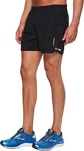 Brooks Men's Sherpa 5'' Shorts Black Small 5 by Brooks (Image #1)