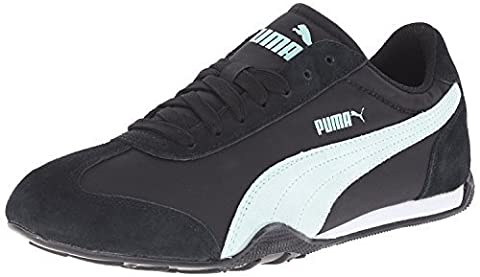 Puma 76 Runner Fun Womens Shoes Sneakers Size US 6.5 Black / Fair Aqua 359715 04 (Mens Puma 76 Runner)