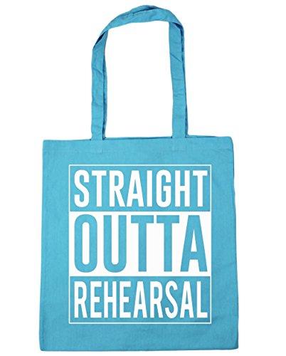 Gym 42cm Outta litres Beach Tote 10 Shopping Bag HippoWarehouse Blue Straight Rehearsal x38cm Surf B1458xw1Xq