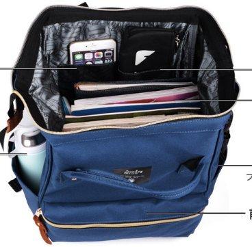 Bolsa de hombro ligera de gran capacidad ,bolso de la computadora de negocio-B B