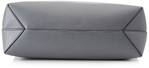 Trussardi Jeans 75b00031-1y000056, Borsa a Mano Donna, 37x48x11 cm (W x H x L) Grigio