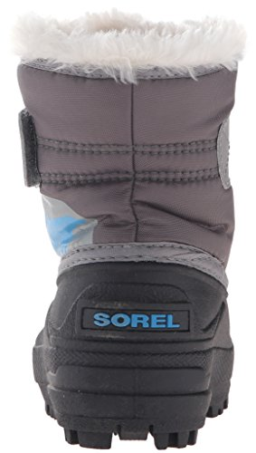 Bottes Dark Junior Sorel Commander Fog Grey Snow light IqrgwdxIR