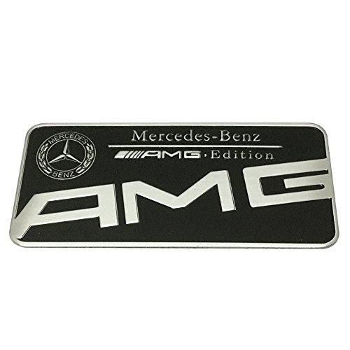 black amg emblem - 8