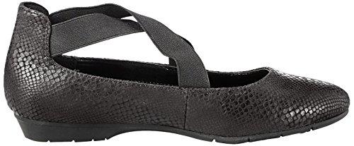 Zapato 8 Black Fabric Piso Aeorosoles De Mujeres Talla 4q5vB