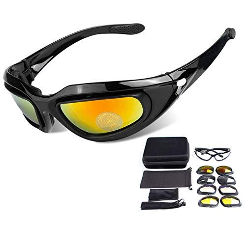 53f0bc8278 ZHIYIJIA Sports Sunglasses Polarized Motorcycle Goggles Padded Strap ...