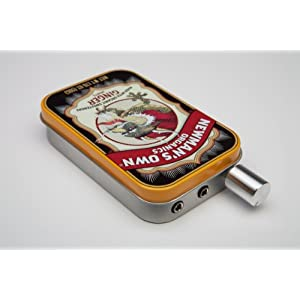 Audiophile CMOY headphone amplifier USA made with high quality parts-Newman's Ginger Tin