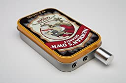 Audiophile CMOY headphone amplifier USA made with high quality parts-Newman\'s Ginger Tin
