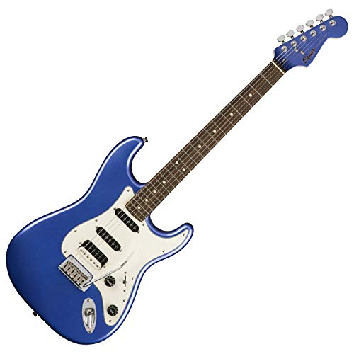 Squier by Fender Contemporary Stratocaster HSS Electric Guitar - Laurel Fingerboard - Ocean Blue Metallic