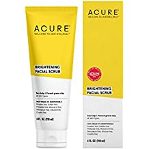 ACURE Brilliantly Brightening Facial Scrub, All Skin Types, 4 Fluid Ounce (Packaging May Vary)