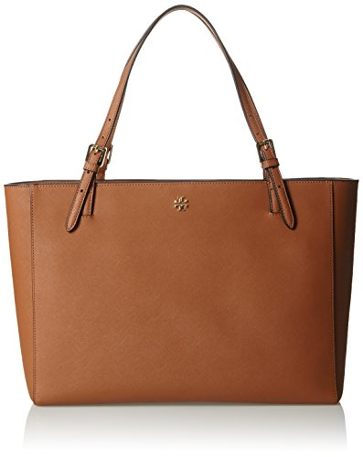 Tory Burch Womens York Buckle Tote, Luggage, One - Tory Size Burch 5