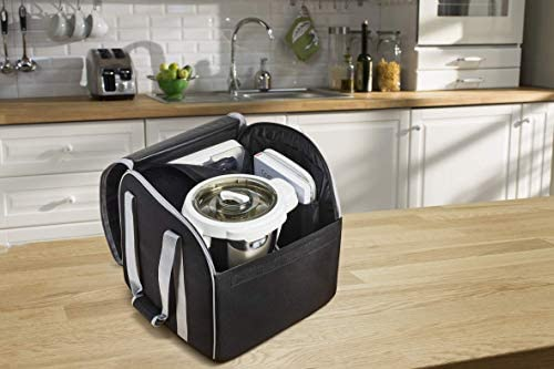 Moulinex Bolsa almacenaje Companion XF38L8 Bolsa de transporte con 2 bolsillos acolchados, base interior reforzada, asas extragrandes, fácil de lavar y guardar, para robot cocina Companion/iCompanion: Amazon.es: Hogar