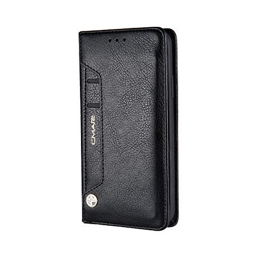 [해외]IPhone Xr スマホケ?ス, SIMPLE DO 수첩 형 핸드폰 커버 카드 넣어 명함 넣어 스탠드 기능 보호 케이스 외출 편 (블랙) / iPhone Xr Smartphone Case, SIMPLE DO Notebook Type Portable Cover Card Case Business Card Case Stand Function Protect...