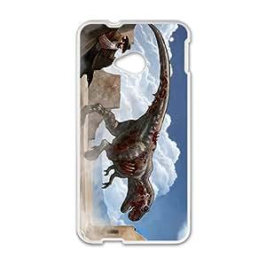 Creative Dinosaur Custom Protective Hard Phone Cae For HTC One M7