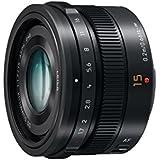 Panasonic H-X015E-K LEICA DG SUMMILUX 15mm F1.7 ASPH Lens - Black