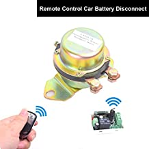 EKYLIN Car Wireless Remote Control Battery Switch Disconnect Latching Relay Anti-theft, EKYLIN DC 12V Electromagnetic Solenoid Valve Terminal Master Kill System