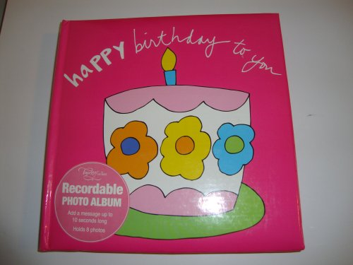 - Tapestry by CR Gibson Recordable Photo Album - Happy Birthday to You