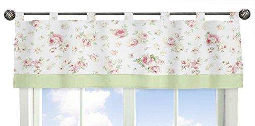 (Sweet Jojo Designs Window Valance, Riley's Roses)