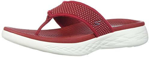 Skechers Performance Frauen unterwegs 600-15300 Flip-Flop rot