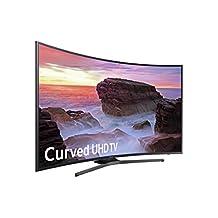 "Samsung UN55MU6500 Curved 55"" 4K Ultra HD Smart LED TV (2017 Model), Black"