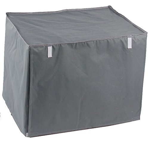 Generic Pet Indoor Outdoor Crate Cover Kennel Covers for Wire Crates Grey Xl