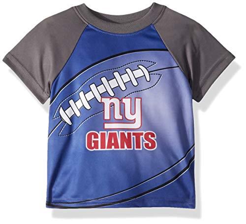 NFL New York Giants Unisex Short-Sleeve Tee, Blue, 2T