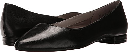 Aerosoles Women's Hey Girl Ballet Flat, Black Leather, 7....
