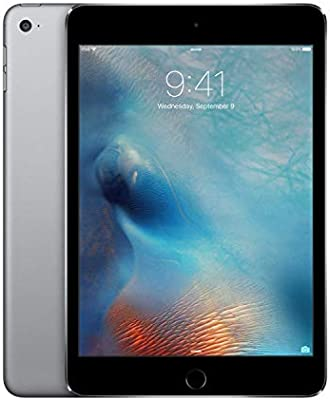 Apple iPad Mini 4 with Facetime Tablet - 7 9 Inch, 128GB, WiFi