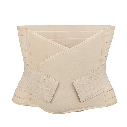 Women Postpartum Waist Trainer Girdles Pregnant Slimming Breathable Belt Belly Maternity Bandage,Skin,M