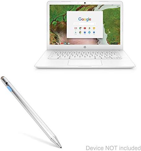 HP 14-dk0020na Full-HD 14 Inch Laptop Broonel Black Mini Fine Point Digital Active Stylus Pen Compatible with The HP 14-dk0018na Full-HD 14 Inch Laptop