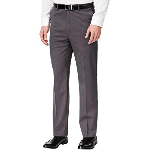 Michael Kors Mens Tic Dress Slacks Grey 44x32