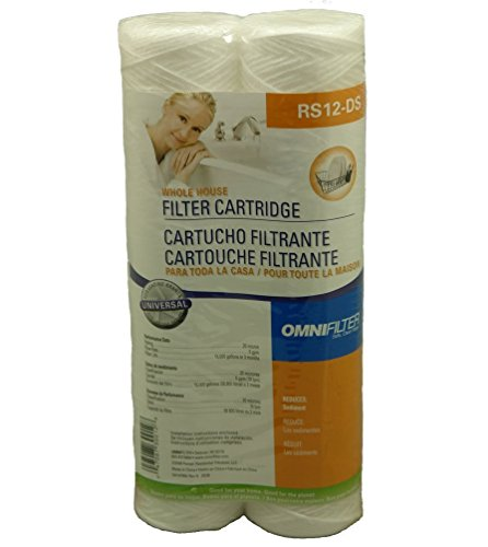 OmniFilter RS3DS Whole House Replacement Filter Cartridge (2-Pack)- (Package Of 2)