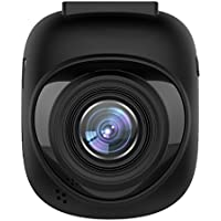 Pruveeo P1 FHD 1080P Dash Cam with WiFi, 160 Degree Wide Angle Dashboard Camera